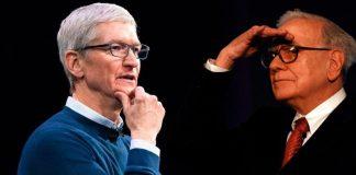 Apple CEO Tim Cook & Berkshire Hathaway CEO Warren Buffett