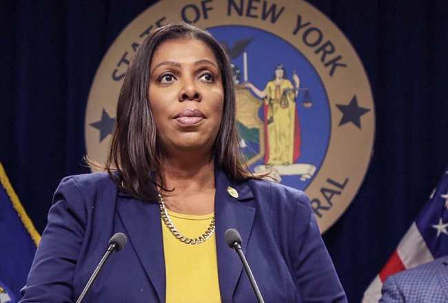 The New York City Attorney General Letitia James vs Amazon