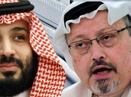 Crown Prince Mohammed Bin Salman and Journalist Jamal Khashoggi