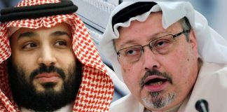 Crown Prince Mohammed Bin Salman and Journalist Jamal Khashoggi