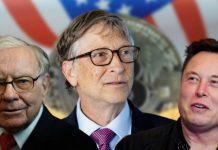 Bill Gates, Warren Buffett, Elon Musk