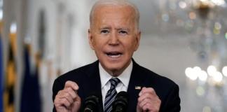 President Joe Biden claims credit for Trump's COVID-19 vaccination progress