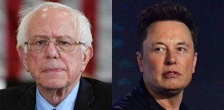 Senator Bernie Sanders and Elon Musk