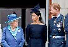 Queen Elizabeth II, Megan Markle, Prince Harry