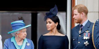 Queen Elizabeth II, Megan Markle, Prince Harry