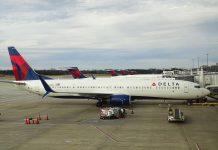 Delta Airlines Aircraft. Source: Unsplash by Miguel Angel Sanz