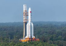 Chinese rocket Long March 5B