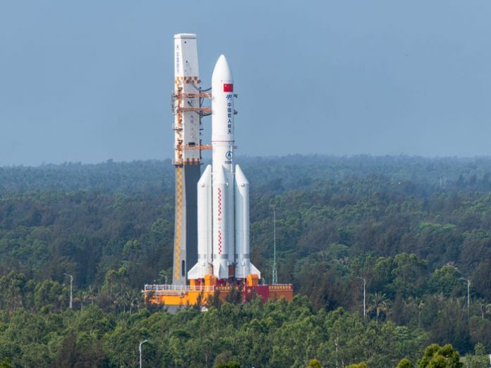 Chinese rocket Long March 5B