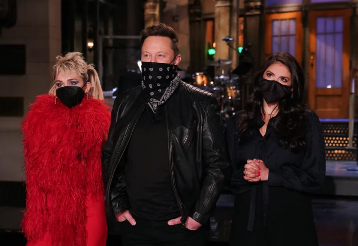 Elon Musk Miley Cyrus SNL
