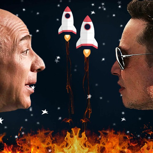 Jeff Bezos CEO of Washington-state-based Blue Origin lost its bid to SpaceX for the moon landing NASA contract. Elon Musk owned SpaceX got the contrac